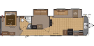 New 2015 Keystone RETREAT 39BHTS Travel Trailer For Sale